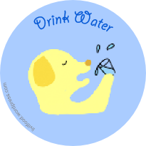 drink-water-dog-animal-tag